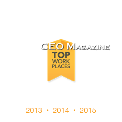 CEO Magazine Top Work Places