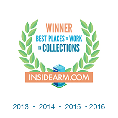 Inside Arm - Best Places to Work 2013, 2014, 2015, 2016